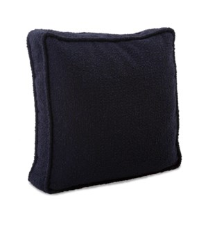 20 in. Gusseted Pillow Barbet Royal - Down Insert