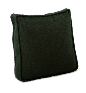 20 in. Gusseted Pillow Barbet Forest - Down Insert