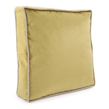 """20"""" Gusseted Pillow Bella Moss - Down Insert"""