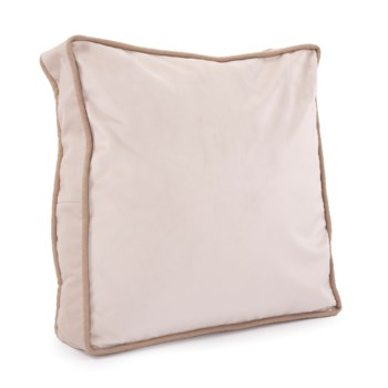 "20"" Gusseted Pillow Bella Sand - Down Insert"
