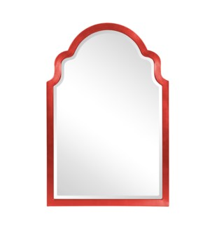 Sultan Mirror - Glossy Red