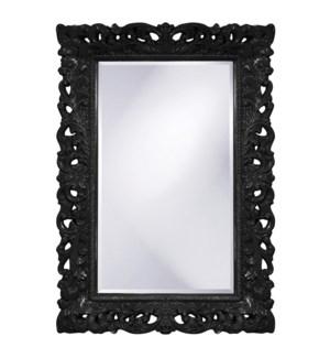 Barcelona Mirror - Glossy Black