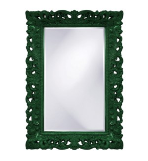 Barcelona Mirror - Glossy Hunter Green