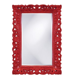Barcelona Mirror - Glossy Red