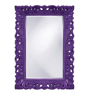 Barcelona Mirror - Glossy Royal Purple