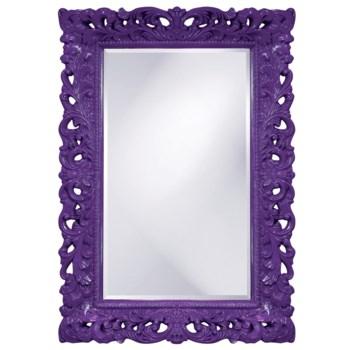 Barcelona Mirror - Glossy Royal Purple