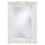Barcelona Mirror - Glossy White