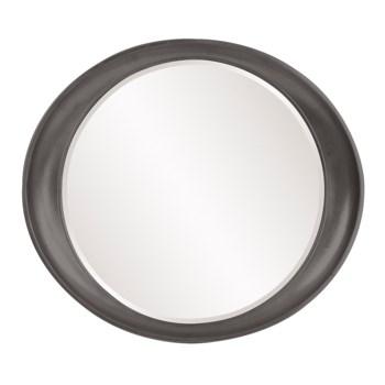 Ellipse Mirror - Glossy Charcoal