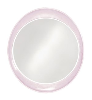Ellipse Mirror - Glossy Lilac