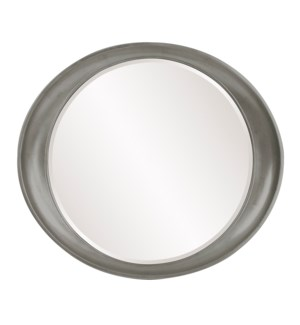 Ellipse Mirror - Glossy Nickel