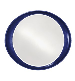 Ellipse Mirror - Glossy Navy