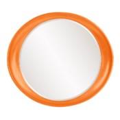 Ellipse Mirror - Glossy Orange