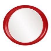 Ellipse Mirror - Glossy Red