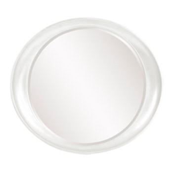 Ellipse Mirror - Glossy White