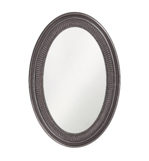 Ethan Mirror - Glossy Charcoal