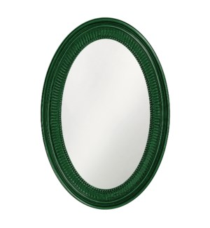 Ethan Mirror - Glossy Hunter Green
