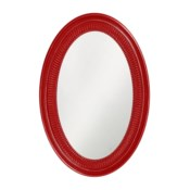 Ethan Mirror - Glossy Red