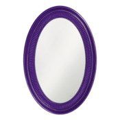 Ethan Mirror - Glossy Royal Purple