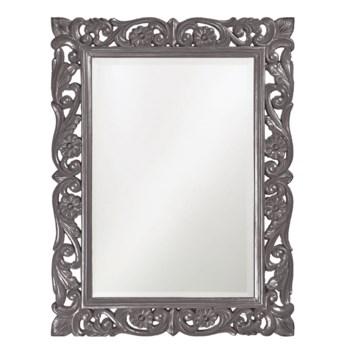 Chateau Mirror - Glossy Charcoal