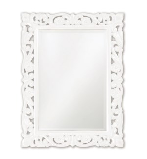 Chateau Mirror - Glossy White