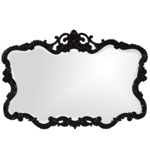 Talida Mirror - Glossy Black