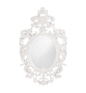 Dorsiere Mirror - Glossy White