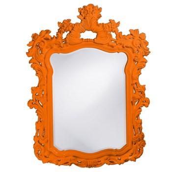 Turner Mirror - Glossy Orange