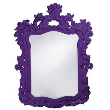 Turner Mirror - Glossy Royal Purple