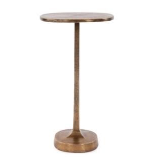 Brass Cast Aluminum Martini Table