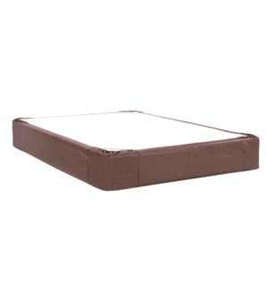 Twin Boxspring Cover Avanti Pecan (Cover Only)