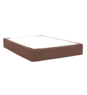 Twin Boxspring Cover Sterling Chocolate (Cover Only)