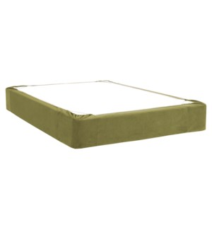 Twin Boxspring Cover Bella Moss (Cover Only)