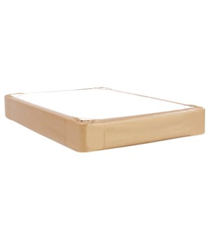 Twin Boxspring Cover Luxe Gold (Cover Only)