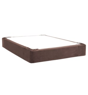 Full Boxspring Cover Bella Chocolate (Cover Only)