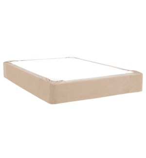 Full Boxspring Cover Bella Sand (Cover Only)