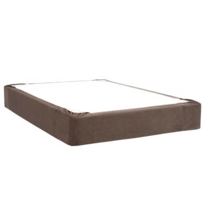 Full Boxspring Cover Bella Pewter (Cover Only)