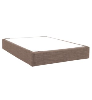 Full Boxspring Cover Coco Slate (Cover Only)