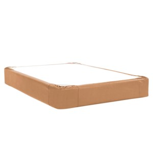 Queen Boxspring Cover Avanti Bronze (Cover Only)