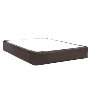 Queen Boxspring Cover Avanti Black (Cover Only)