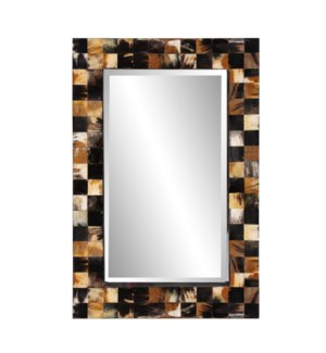 Elias Horn Tiled Mirror