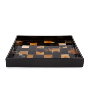 Elias Horn Tiled Tray
