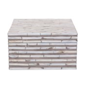 Julianna Square Mother of Pearl High Box