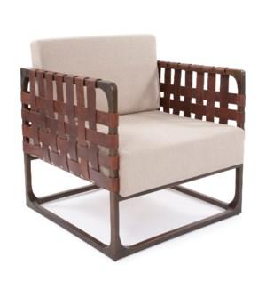 Hugo Leather Chair