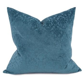 "24"" x 24"" Pillow Chelsey Indigo - Down Fill"