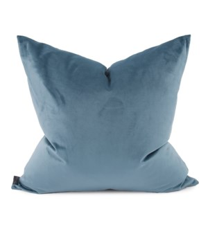 "24"" x 24"" Bella Teal Pillow - Poly Insert"