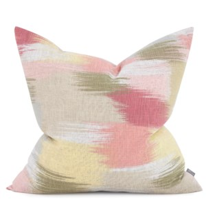 """24"""" x 24"""" Gleam Coral Pillow - Poly Insert"""