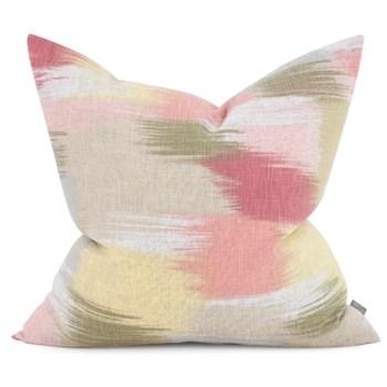 "24"" x 24"" Gleam Coral Pillow - Down Fill"