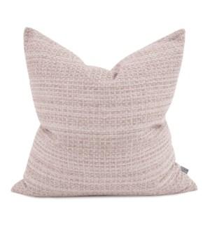 """24"""" x 24"""" Alton Blush Pillow - Poly Insert"""