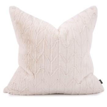 "24"" x 24"" Angora Natural Pillow - Down Fill"