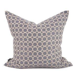"24"" x 24"" Pyth Steel Pillow - Poly Insert"